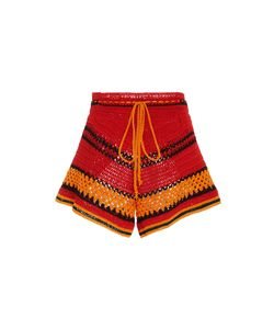 Spencer Vladimir | Tulum Striped Crochet Short
