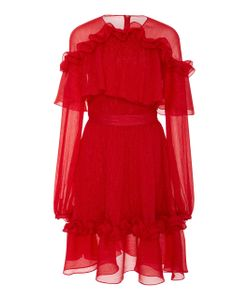 Prabal Gurung | Shoulder Ruffle Dress