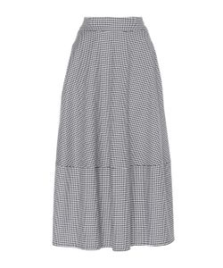 Paskal | High Waisted Checkered Skirt