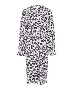 Jonathan Cohen | Inverse Abstract Orchids Twisted Dress