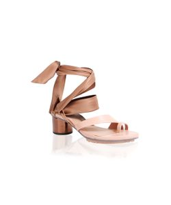 GINGER & SMART   Maya Ankle Wrap Mid Heel