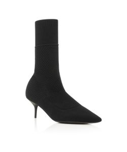 Burberry | Lynda Stretch-Knit Ankle Boots