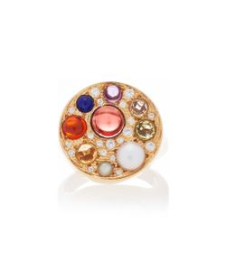 Noor Fares | Upratna Seal Ring In With Various Coloured