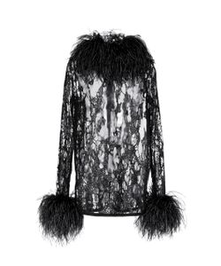 Elie Saab | Feather And Sequin Embroidered Top