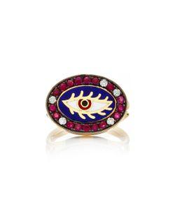 Holly Dyment | Americana Enamel Eye Ring