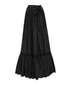 Jonathan Cohen | Pleated Wrap Maxi Skirt