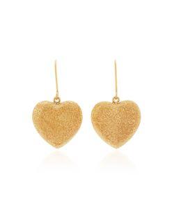 Carolina Bucci   Florentine Heart Earrings