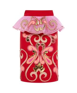 Manish Arora | Rodeo Bling Ruffle Pencil Skirt