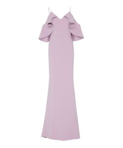 Christian Siriano | Shoulder Flounce Gown