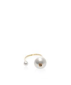 Delfina Delettrez | 18k And Double Pearl Ring