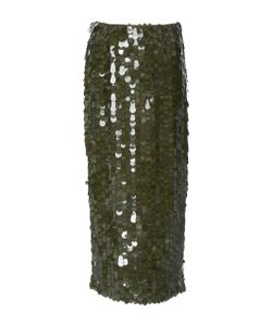 Sally Lapointe | Hand Embroide Sequin Pencil Skirt
