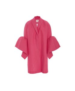 Delpozo | Coat With Frill Sleeves