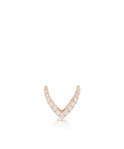 Anita Ko | Round Diamond V Ring