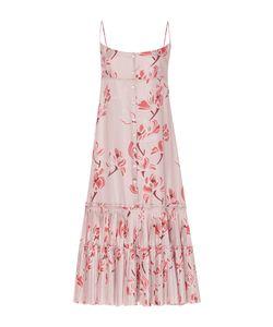 Brock Collection | Dahlia Oleander Silk Twill Dress