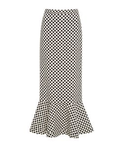 Saloni   Portia High Waisted Midi Skirt