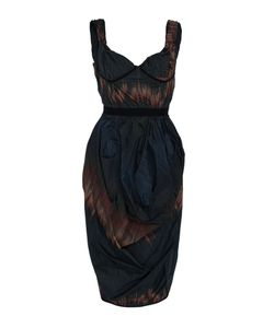 Brock Collection | Deandra Fire Strip Tulip Dress