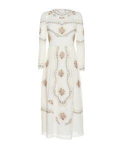 Vilshenko   The Sofia Cotton Lawn Midi Dress