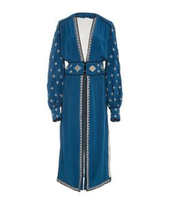 Talitha | Cross Embroidered Tabia Robe