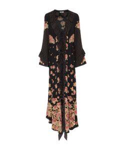 Vilshenko   Aventina Silk Crepe De Chine Maxi Dress
