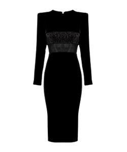 Alex Perry | Landon Long Sleeve Lady Dress