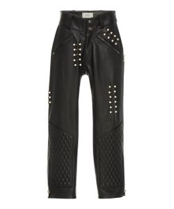 Rodarte | Quilted Leather Pant