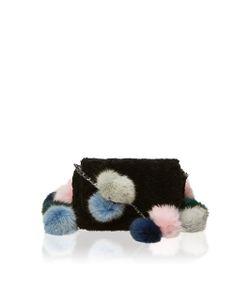 Charlotte Simone | Fur Pom Pom Cross Body Bag