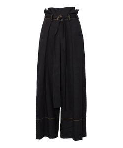 Kitx | Tuck Waist Belted Trouser
