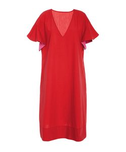 Araks | Poppy Orchid Marion V-Neck Cover Up Dress