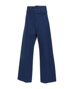 Sea | Cropped Canvas Boating Pant