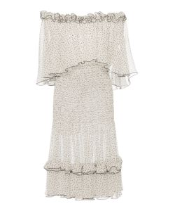 Prabal Gurung | Off The Shoulder Ruched Dress