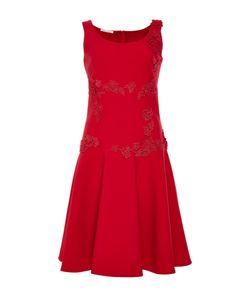 Oscar de la Renta | Scoop Neck Mini Dress