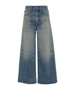 Brock Collection | Selvage Beatrice Wide Leg Jeans