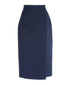Dice Kayek | High Waisted Pencil Skirt