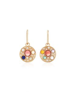Noor Fares | Upratna Drop Earrings In With Various Coloured