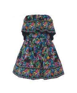 Zuhair Murad   Short Strapless Dress With Ruffle Detail