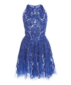 Zuhair Murad | Embellished Tulle Mini Dress