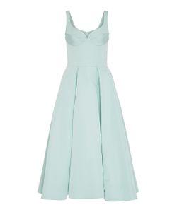 Christian Siriano | Silk Faille A-Line Dress