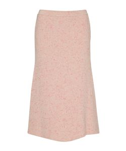 Orley | Ribbed Cashmere A-Line Skirt