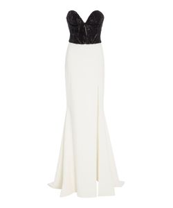 Christian Siriano | Sequin Strapless Gown