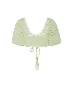 She Made Me | Sana Crochet Bikini Top