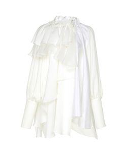 Dice Kayek | Ruffled Puff Sleeve Shirt