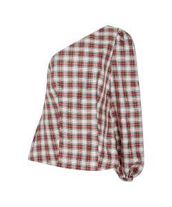 Racil | Tartan One Shoulder Dorset Top