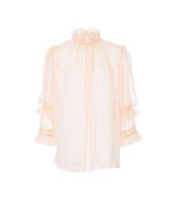 Amelia Toro | Three Quarter Sleeve Silk Blouse