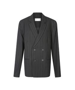 Strateas Carlucci | Macro Plated Double Breasted Blazer