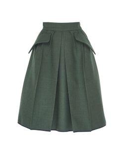 Dice Kayek | High Waisted A-Line Skirt