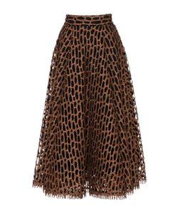 Christian Siriano | Honeycomb A-Line Skirt
