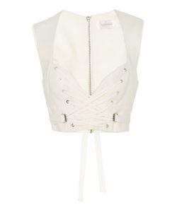Zimmermann | Corset Silk-Crepe Vest