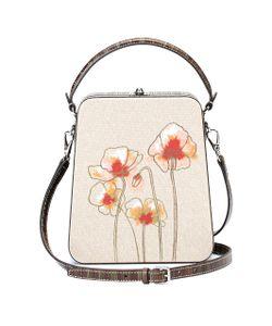 Bertoni | Bertoni1949 Tall Bertoncina Poppy Embroidered Bag