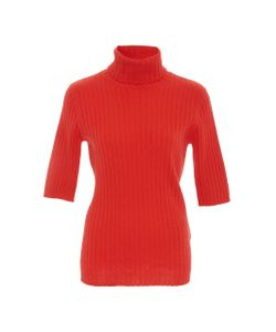 Allude | Ribbed Cashmere Turtleneck