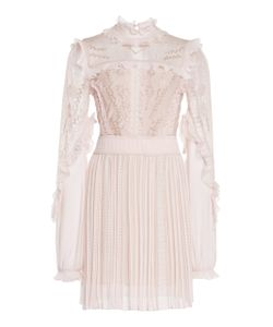Zuhair Murad | Pleated Ruffle Mini Dress